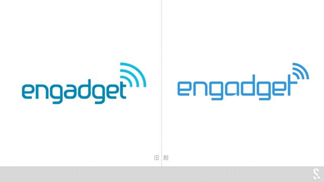 科技博客Engadget启用新LOGO