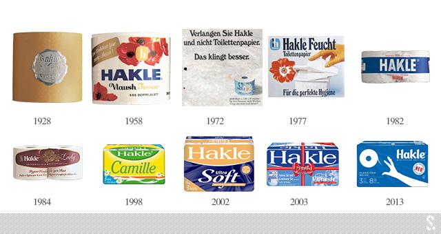 德国卫生纸品牌Hakle新LOGO和新包装