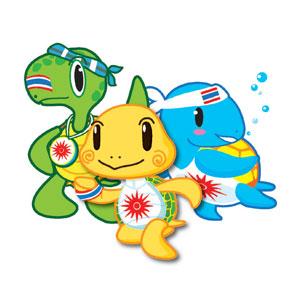 Mascot Phuket 2014 5114260011230 2014年亚洲沙滩运动会会徽和吉祥物