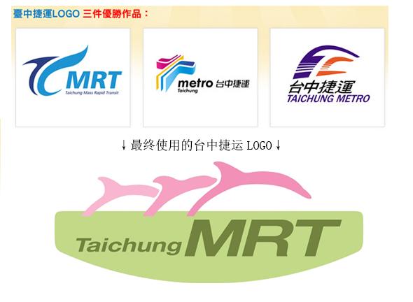 taichuang metro logo 砸钱征集不算数?台中捷运LOGO变海豚