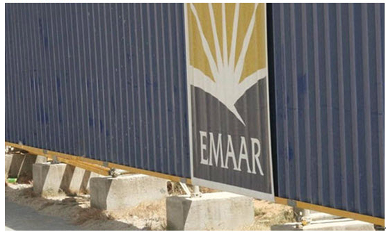 """emaar 美国政府也会有这样的Logo""""意外事故"""""""