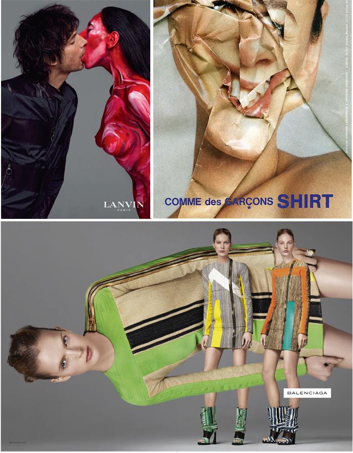 戏说2010时尚大片:春夏广告一片躺,唯有PRADA玩文艺 - FreshBoy -