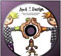 韩国CD碟面设计