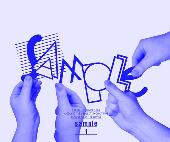 英国SAMPLE平面设计作品展