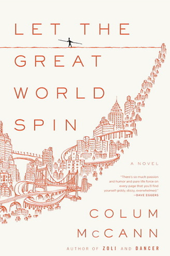Beautiful Book Covers - Let the Great World Spin