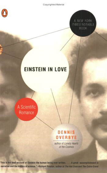 Beautiful Book Covers - Einstein in Love