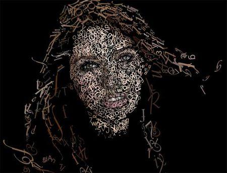视觉艺术 视觉传达 创意设计girl 50
