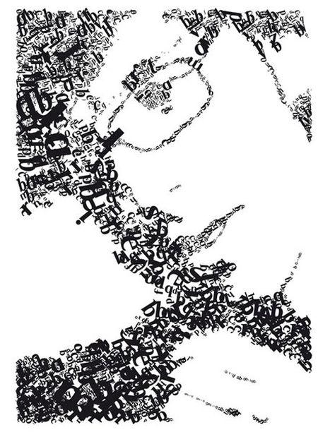 视觉艺术 视觉传达 创意设计marklampe face by marklampe 50