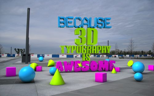 Because 3D is Awesome