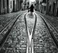 由心出发的美丽黑白街头摄影�C Rui Palha