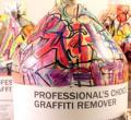 涂鸦风格包装的卸妆液形象设计