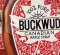 加拿大枫糖浆手工绘制朴实包装设计