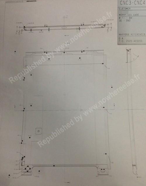 厚度仅7.9mm 苹果iPad 5设计图曝光