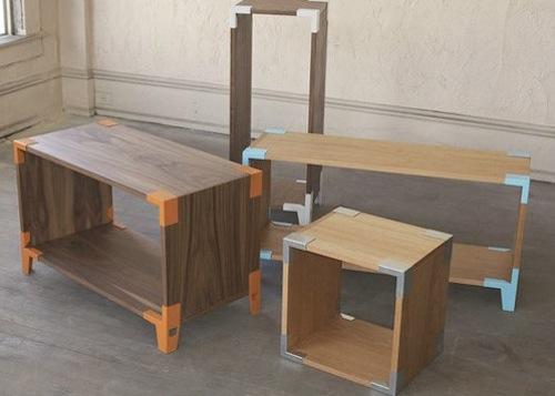 家具设计的四种趋势:充气、折叠、扁平化和模块化
