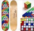 魔方马赛克:新品滑板设计