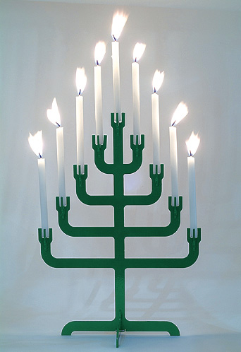 Menorah Tree by Sahar Batsry