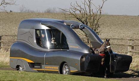 """英国设计出""""现代化的马拉汽车""""(组图)"""