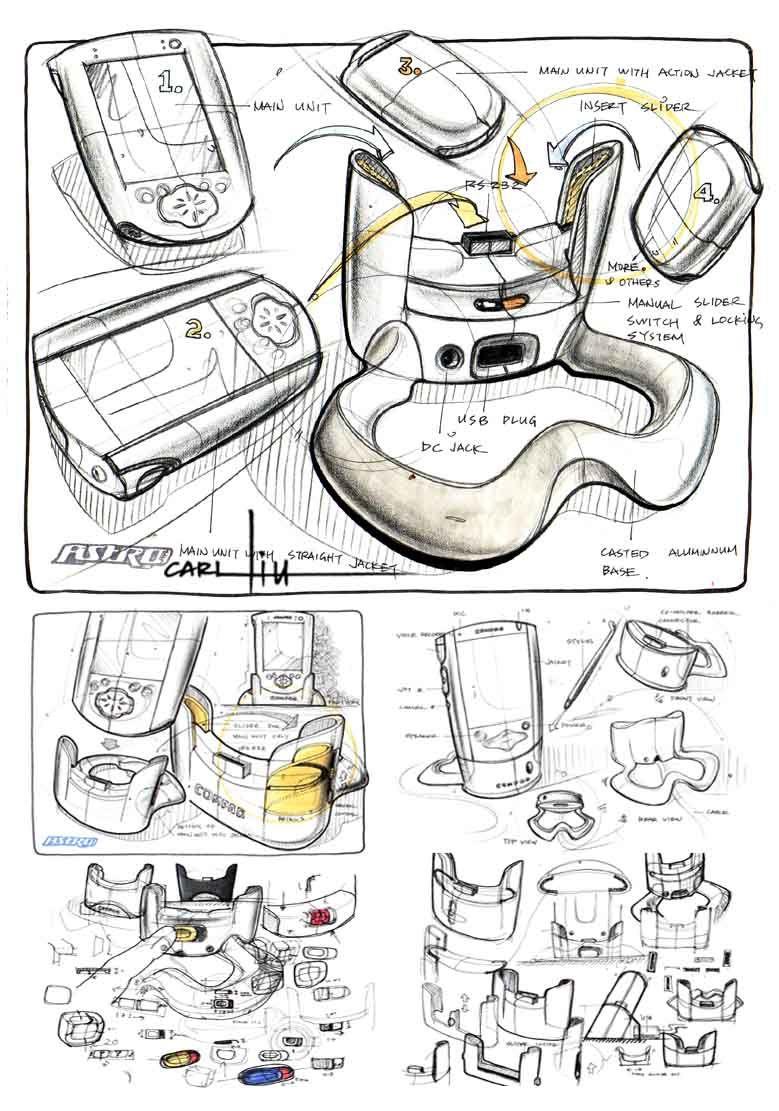 中国 设计 之窗 国外工业 产品设计草图