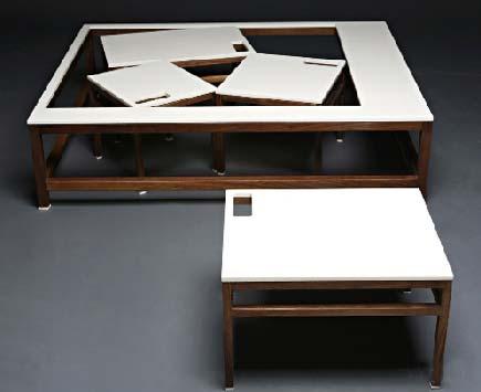 设计师Ohalt的组合桌子设计