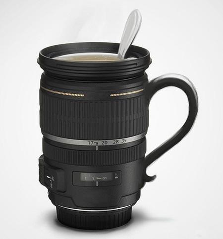 Camera Zoom Lens Mug