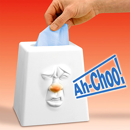 Talking Tissue Box