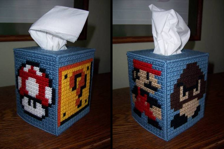Super Mario Tissue Box