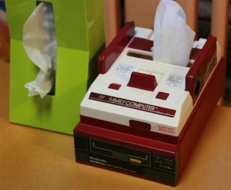 Nintendo Famicom Tissue Box Cover