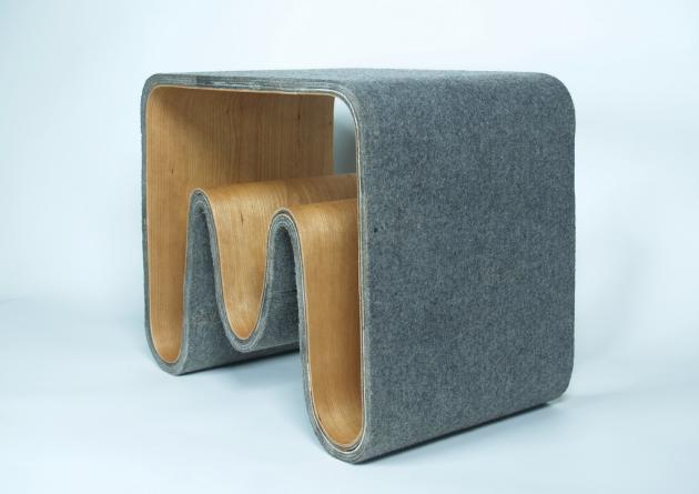 书架椅子茶几三合一