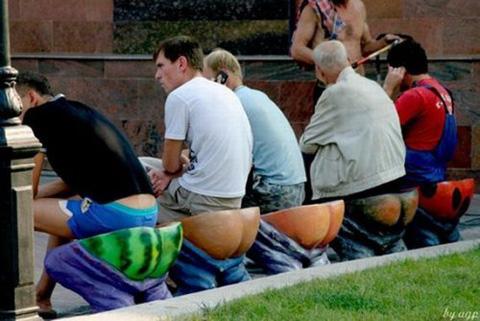 搞笑 公共座椅 设计 创意 座椅