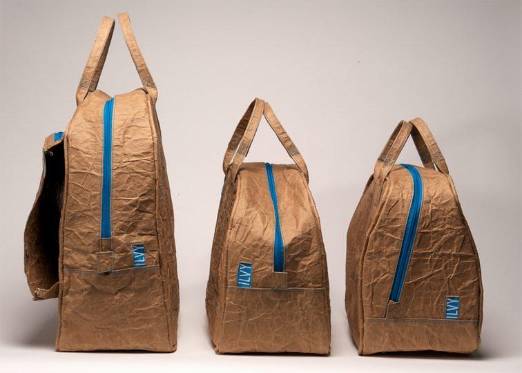 Ilvy-Jacobs 荷兰 牛皮纸袋 折叠与褶皱