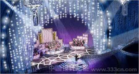 奖典礼舞台设计效果图曝光
