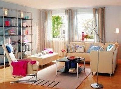 采光良好的房间可选择的范围及较大,深浅均可