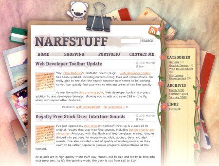 Blog Showcase - Narfstuff