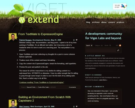 Blog Showcase - Viget Labs