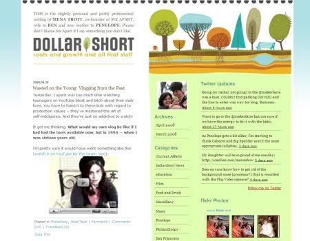 Blog Showcase - Dollarshort