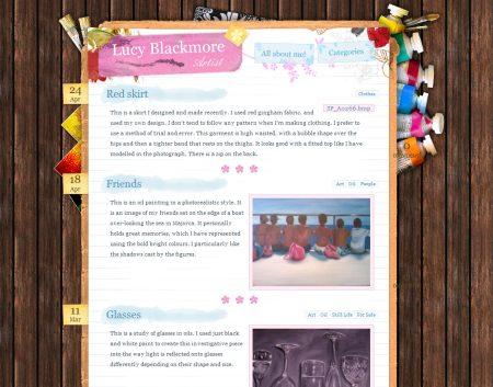 Blog Showcase - Lucy Blackmore