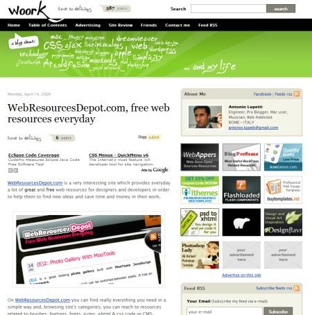 Blog Showcase - woork