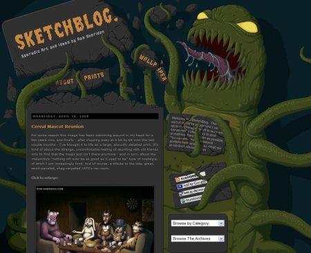 Blog Showcase - Sketchblog