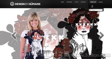 inspirational e-commerce website design