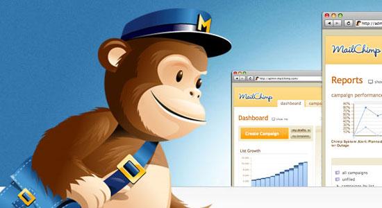 MailChimp - screen shot.