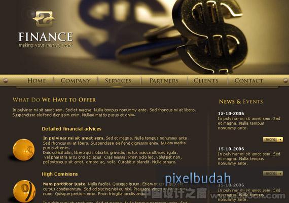 Finance Website design-inspiration