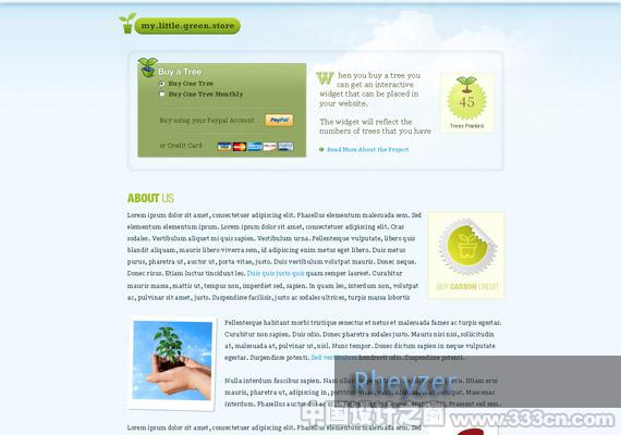 my little green store 1 webdesign-inspiration