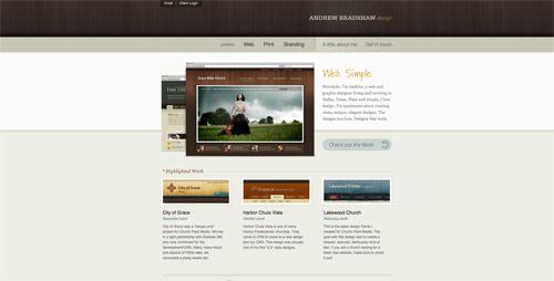 网站设计趋势:各类水平条带来的点缀效果