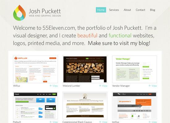 web 界面 网页 版式 创意