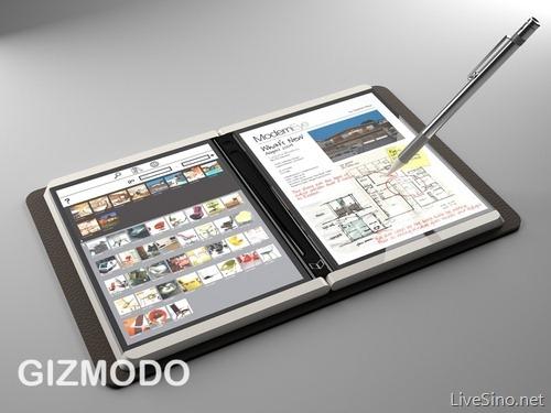 微软 Tablet 原型机 Courier