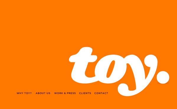 Orange Website Showcase - TOY