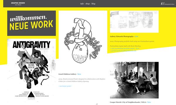 Yellow Website Showcase - EBSL