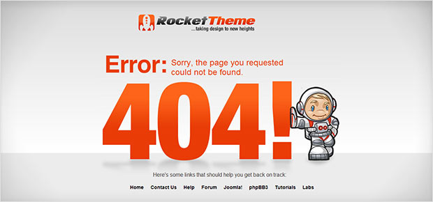 instantShift - Creative 404 Error Pages Around