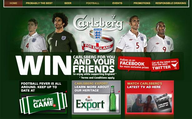 交互设计 网页设计 界面设计 2010世界杯 南非-Carlsberg Football