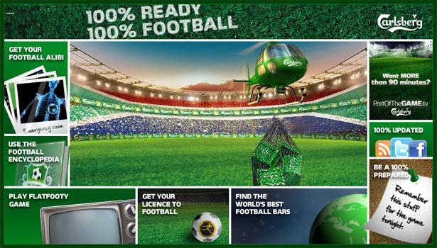 交互设计 网页设计 界面设计 2010世界杯 南非-100% Football
